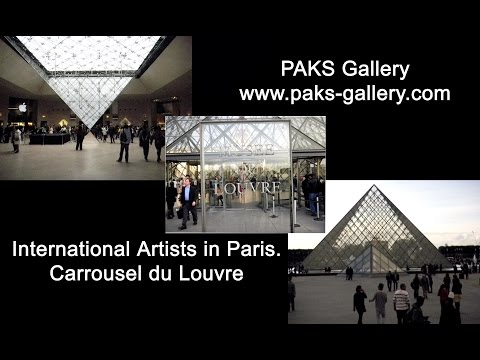 "PAKS Gallery - Carrousel du Louvre - Contemporary Art Salon ""Art Shopping"""
