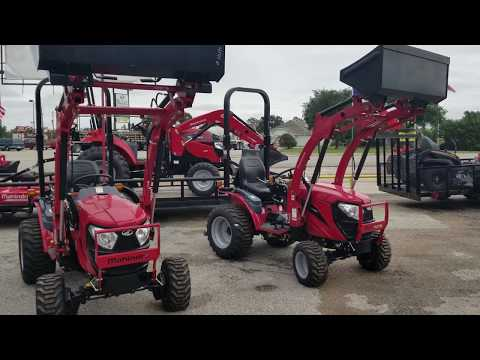 Comparison between the Mahindra 1538 shuttle & 1640 by Henry