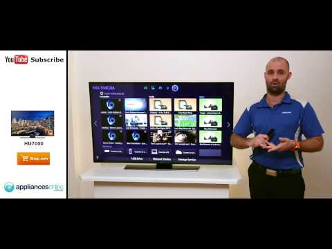The Samsung Series 7 HU7000 4K Ultra HD Smart LED LCD TV reviewed - Appliances Online