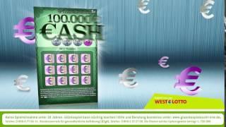 CASH – das neue 5 € Rubbellos mit Gewinnverdoppler für NRW