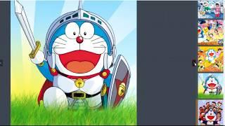 Doraemon xếp hình vui nhộn