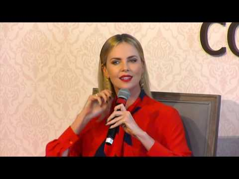 Charlize Theron in conversation