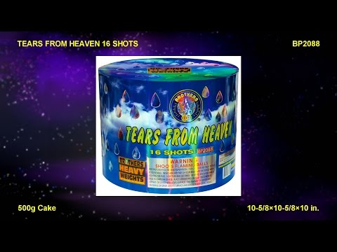 BP2088 Tear From Heaven 16 shots / Brothers Heavy Weights Cake