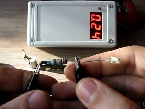 ESR meter selfmade