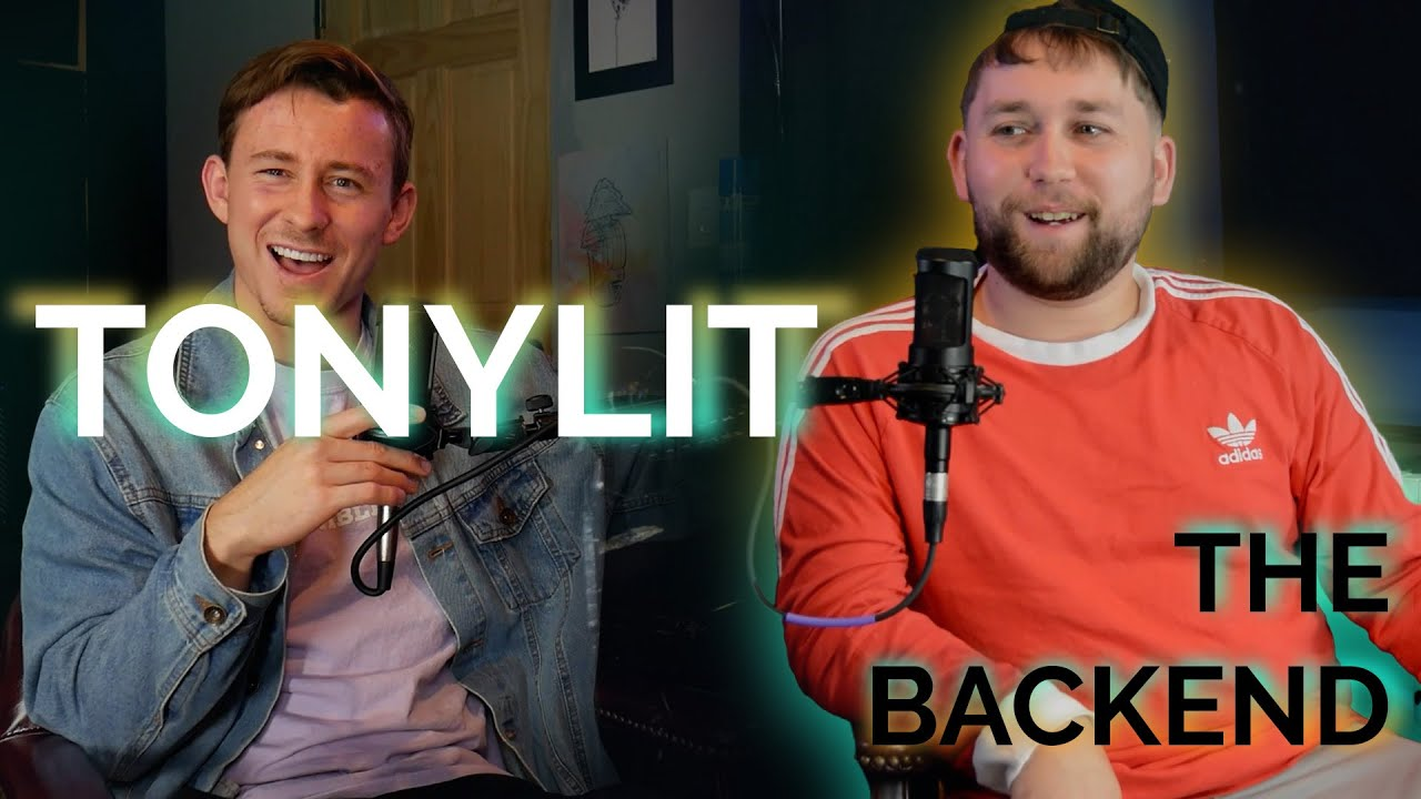 Tony Lit Talks About His Music, Old Technology, Pokémon + More | The Backend #5