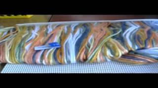 Подушка в технике Барджелло.Обзор набора от Вервако.