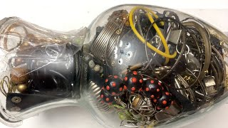 Vintage Jewelry Jar Unjarring and Haul