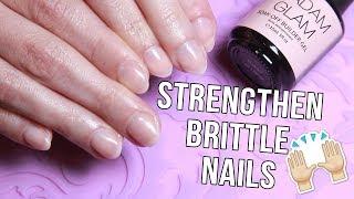 Strengthen Brittle Nails - Overlay & Extension w/ MADAM GLAM BUILDER