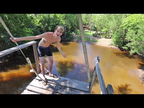 Thumbnail: JUMPING INTO THE WORLD'S NASTIEST POND!