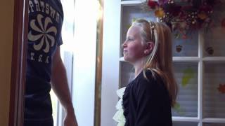 Aaron surprises Maggie - the full story