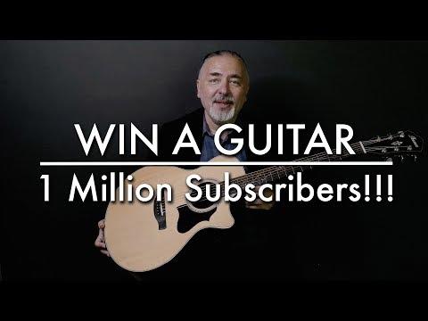 1 Million subscribers! Igor Presnyakov & Ibanez guitar contest! TABS Book giveaway!