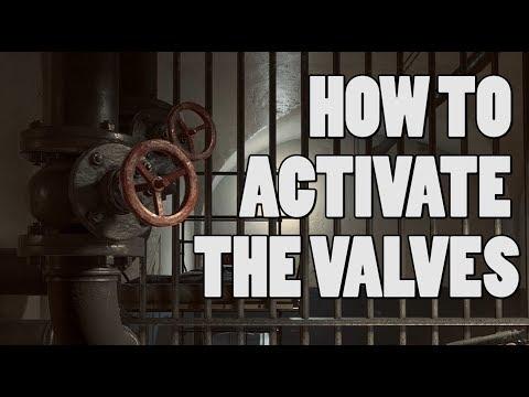 Activating The Valves - Battlefield 1 Zombie Door Easter Egg