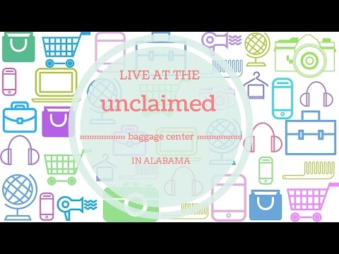 Live at the Unclaimed Baggage Center in Scottsboro Alabama