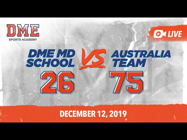 DME Middle School vs Australia
