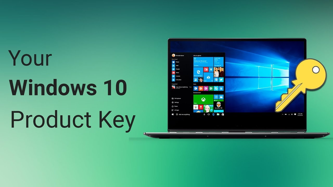 determine windows 10 product key