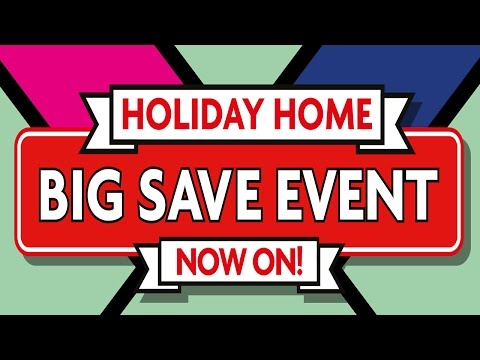 Buy your dream holiday home in the Big Save Event!
