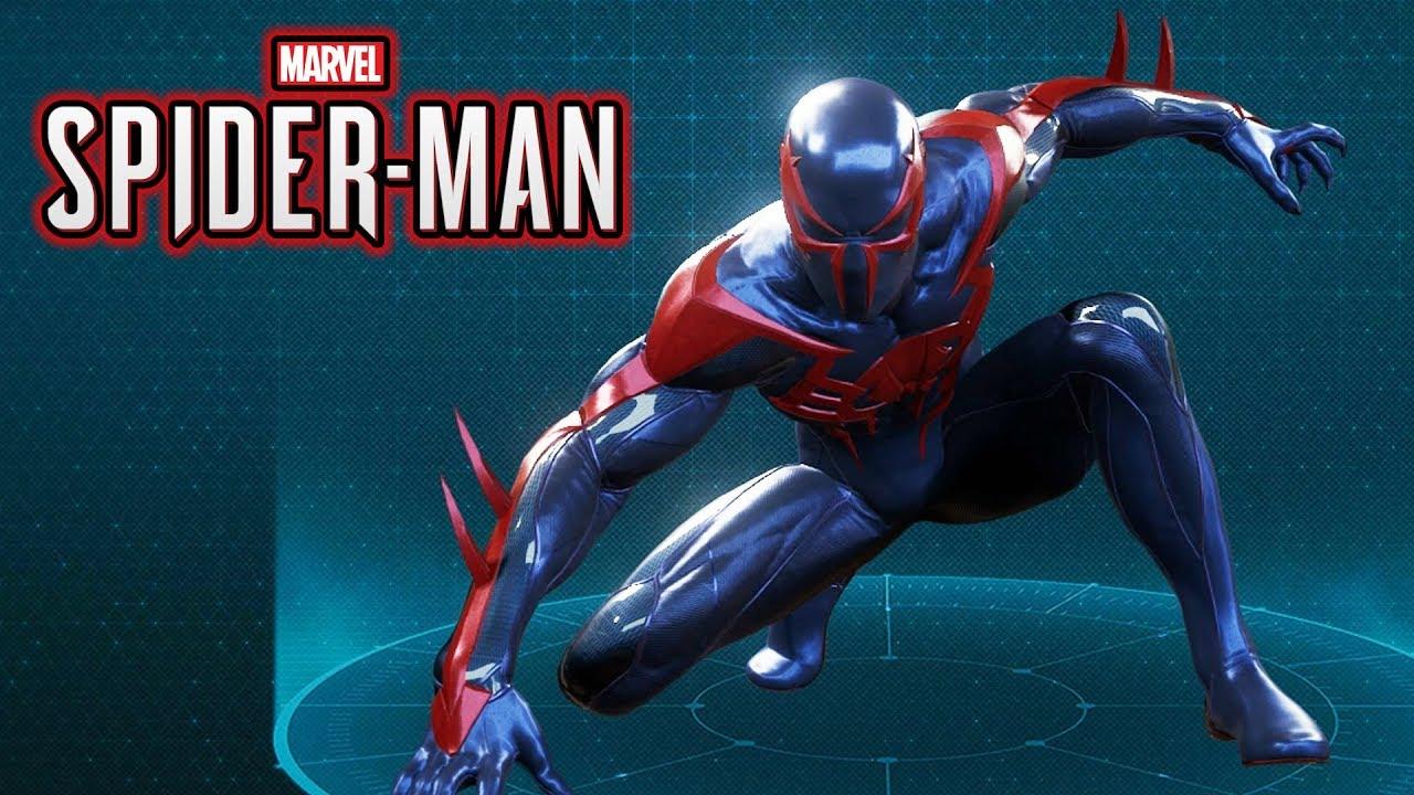 Spiderman 2099: 2099 Suit Gameplay Showcase