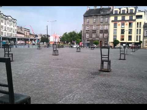 Krakow's Ghetto Heroes Square