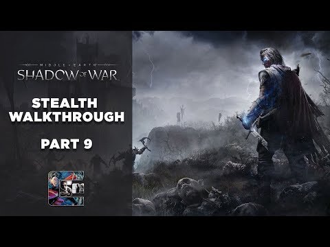 """Shadow of War - Stealth Gameplay Walkthrough - Part 9 PC/ULTRA - """"THE ARENA"""""""