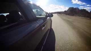 Автомобильное путешествие, тест драйв на новом Mitsubishi Outlander 2015 в Нолинск