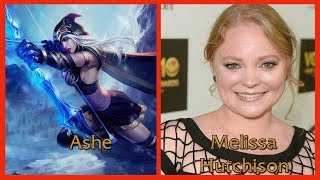 Characters and Voice Actors: League of Legends (Known VAs Only)