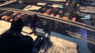 BATMAN™: ARKHAM KNIGHT walkthrough (Dark knight returns skin DLC) stagg air ships part 18