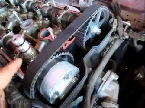 2001 Mazda Miata Timing Belt Replacement Part 1 Youtube