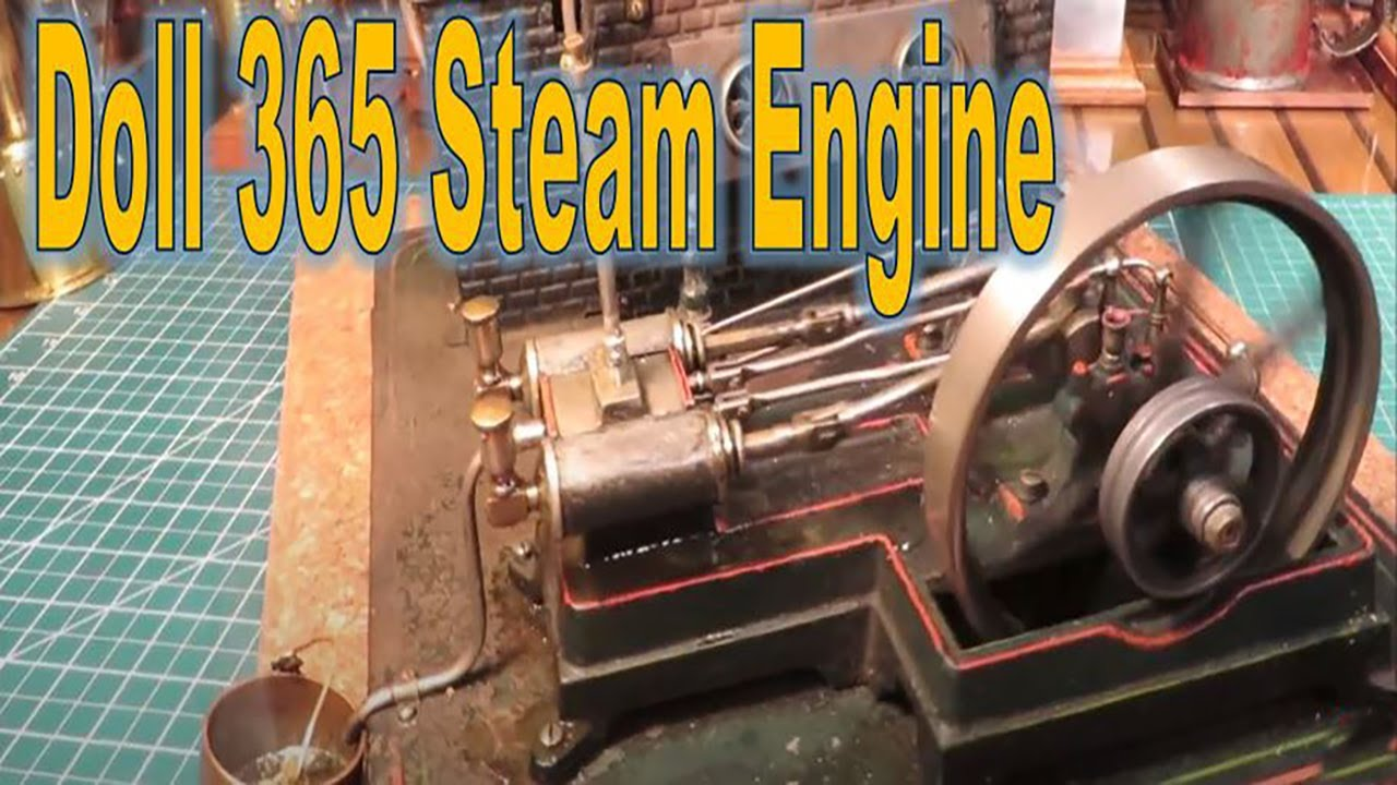 German Doll 365 Steam Engine running on live steam