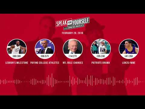 SPEAK FOR YOURSELF Audio Podcast (2.28.18) with Colin Cowherd, Jason Whitlock | SPEAK FOR YOURSELF