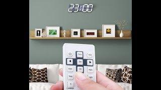 Đồng hồ treo tường Led cao cấp - Đẹp phòng khách - eChipKool SHOP