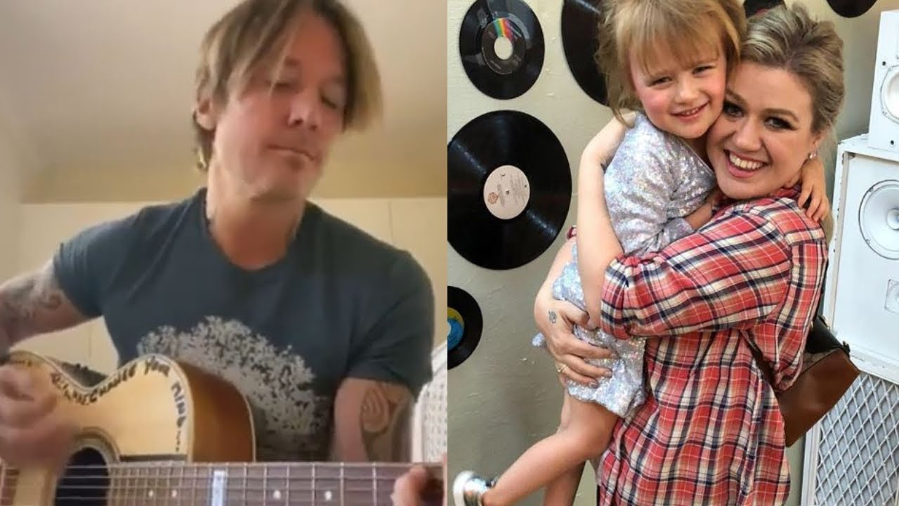Keith Urban's Emotional Luke Combs Cover, Kelly Clarkson Cautions Haters Over Daughters Hair Dye