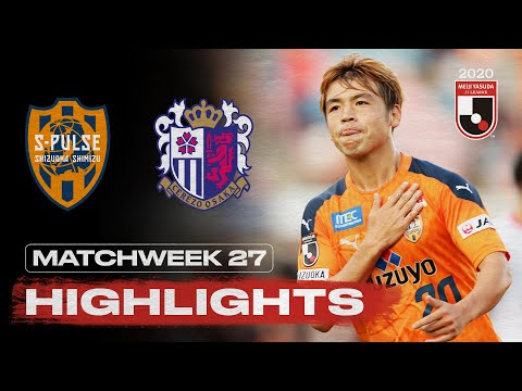 Shimizu C-Osaka Goals And Highlights