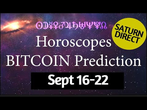 Saturn Direct with Aura – Bitcoin Prediction – Horoscopes All Signs – Crypto Astrology