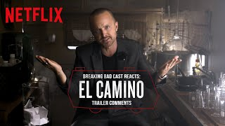 Breaking Bad Cast Reacts to El Camino Trailer Komentarze | Netflix