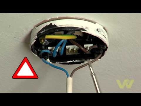 How to Change Light Fittings
