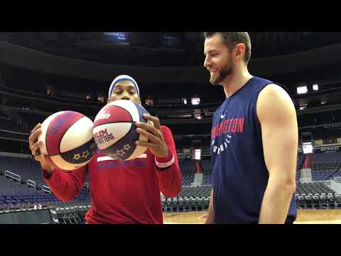 HORSE vs. Washington Wizard | Harlem Globetrotters