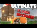 The ULTIMATE FLYING SKYBASE!   Unturned Skycrane Base Design!
