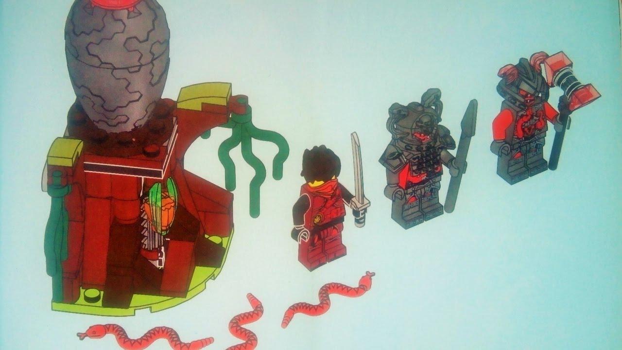 Лего инструкция по сборке ниндзя го видео