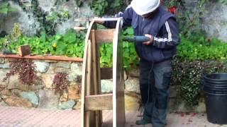 Cómo hacer una cimbra para construir un arco rampante vídeo 155