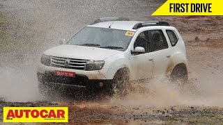 2014 Renault Duster All Wheel Drive | First Drive Video Review | Autocar India