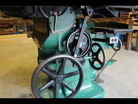 Oliver No. 80 Table Saw Restoration Group Project - June 2014