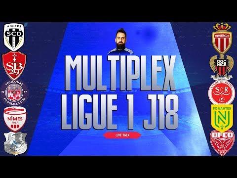🔴🎙️Live : Multiplex J 18 | ANGERS - MONACO/ BREST - NICE / NIMES-NANTES / TFC - REIMS / AMIENS-DIJON