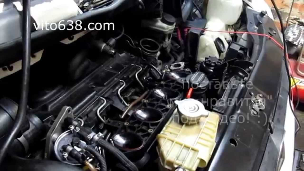 vito 638 2 2 cdi wout intake manifold and egr youtube. Black Bedroom Furniture Sets. Home Design Ideas