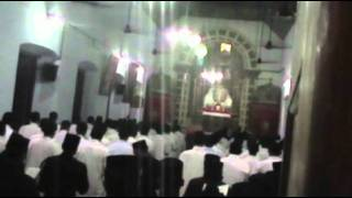 Prayer at Kottayam Orthodox Theological Seminary