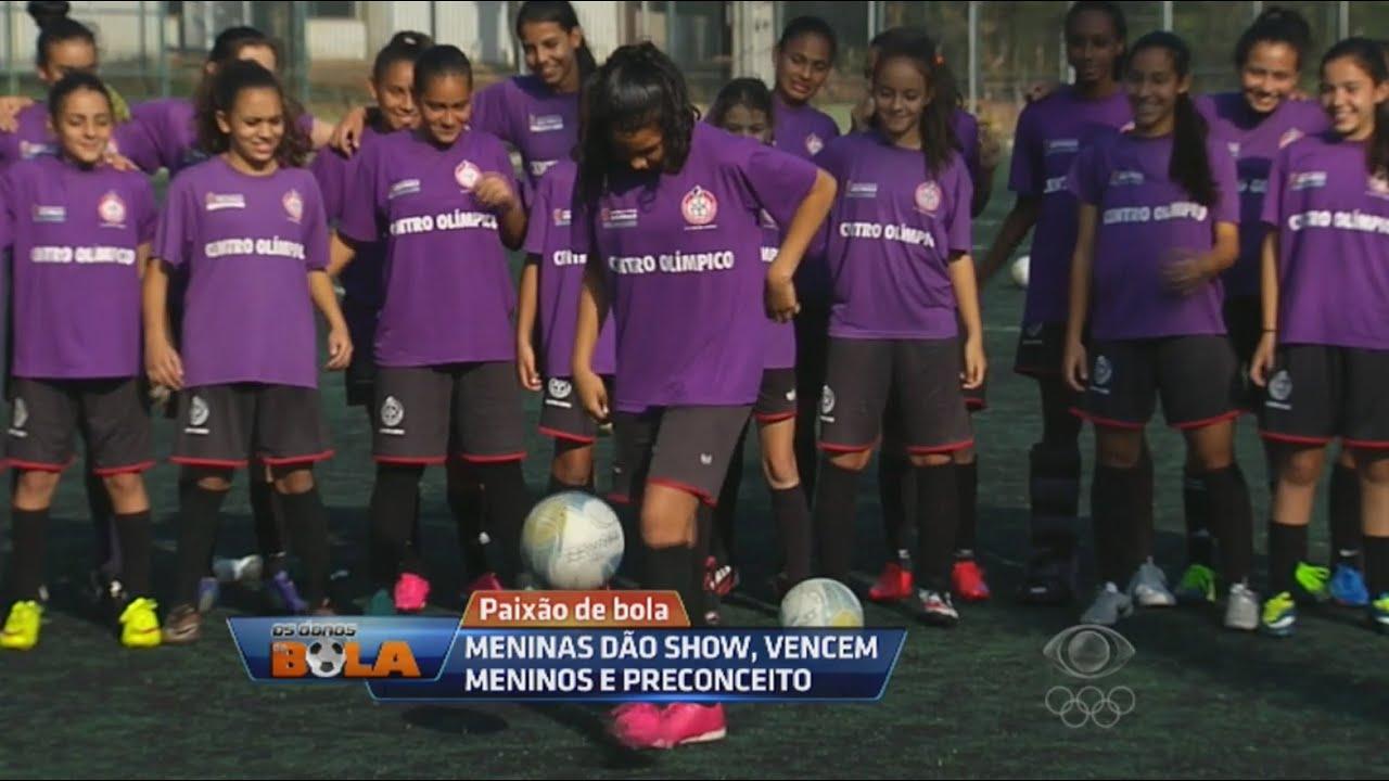 Paixão de Bola  Meninas dão show 5a107182364a1
