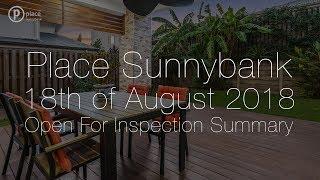 Place Sunnybank 18th August 2018 OFI Summary