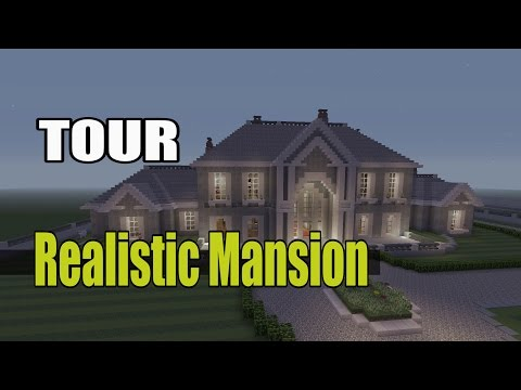 Minecraft Realistic Mansion Tour