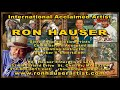Ron Hauser Artist History and Making a Difference Interview 2013