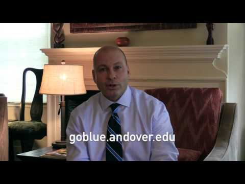 Andover Admission Interview: Part 1