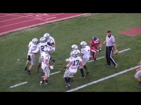 Amazing DOUBLE Hook and Ladder for Winning Touch Down -- HS Football Playoffs